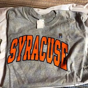 NEW Syracuse T and Hat, with tags!